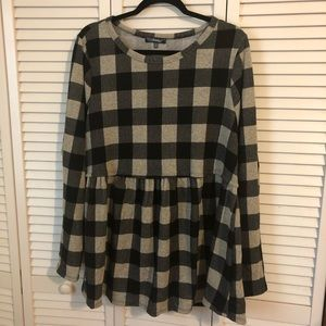 Buffalo Check Tunic